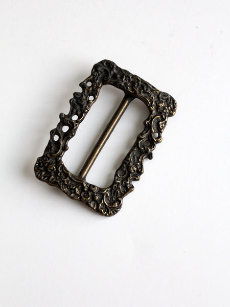 art nouveau slide buckle