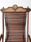 art nouveau rocking chair