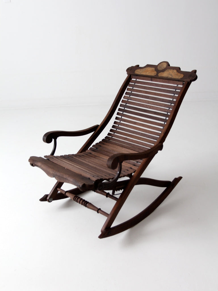 antique rocking chair lounger