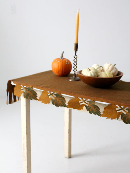 antique harvest table