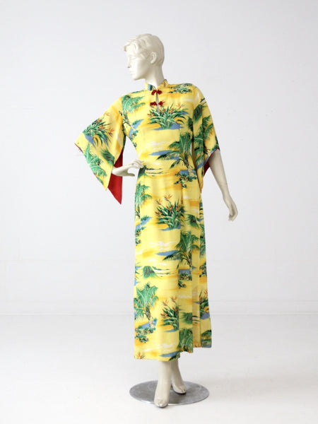 vintage 1950s Hale Hawaii dress