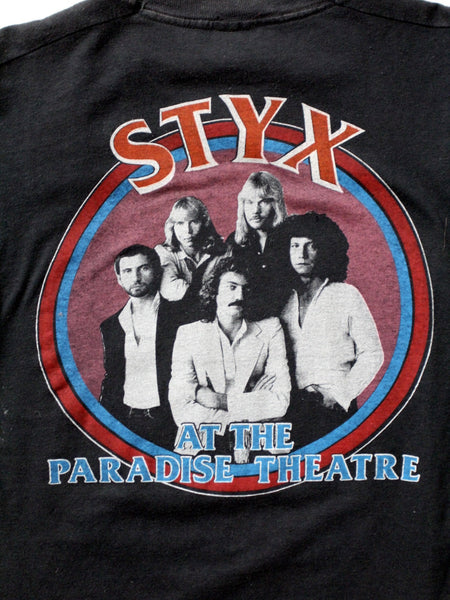 vintage Styx t-shirt, 1981 Paradise Theatre World Tour