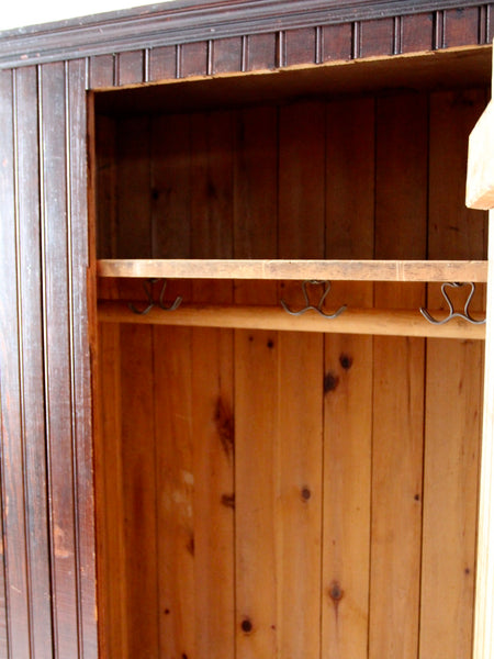 HOLD antique beadboard wardrobe