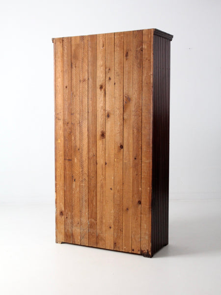 antique beadboard wardrobe
