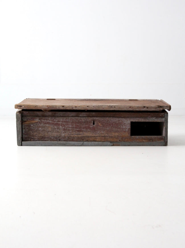 antique primitive tabletop secretary