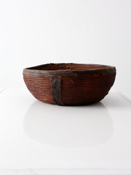 African Nupe tribe bowl