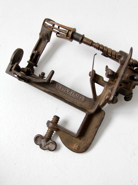 antique Advance Reading Howe apple parer