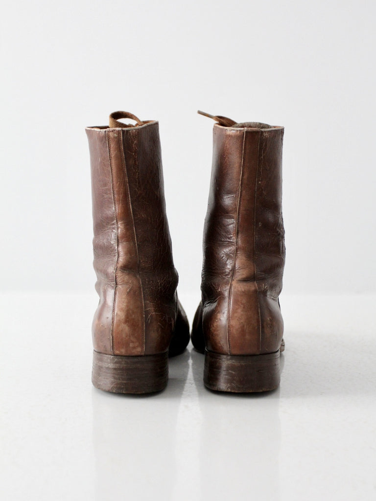 vintage Solidus leather boots