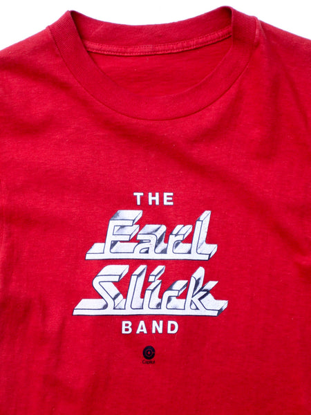 vintage The Earl Slick Band t-shirt