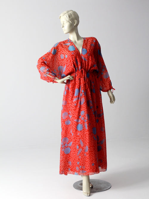 vintage 70s Zandra Rhodes dress