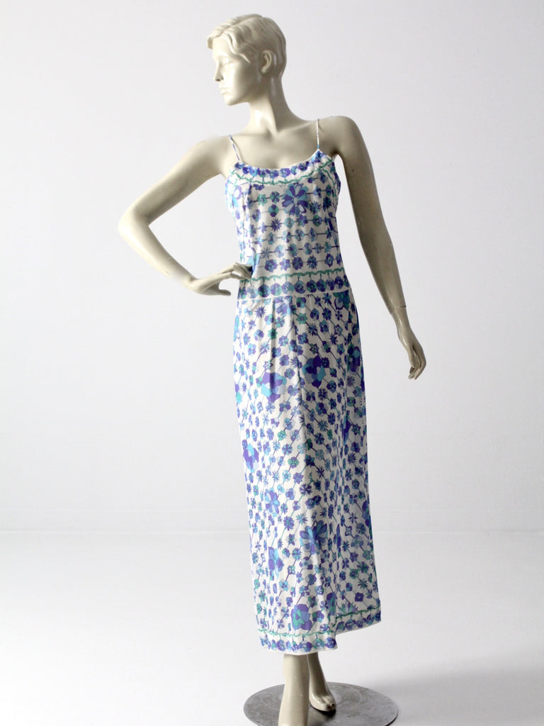 vintage Pucci for Form Fit Rogers slip dress