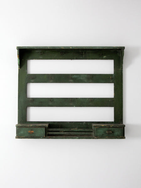 antique wall rack