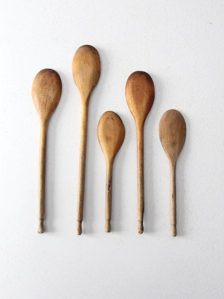 vintage kitchen spoon collection set/5