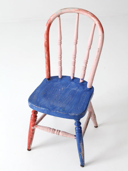 children's vintage wood chair