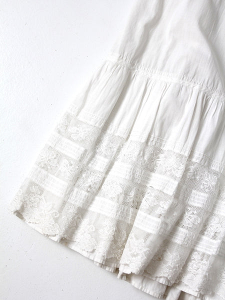 antique Victorian petticoat skirt