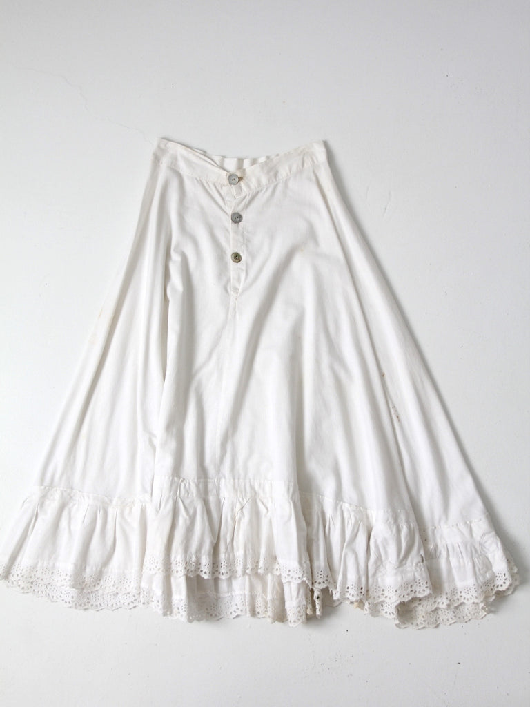 antique Victorian skirt