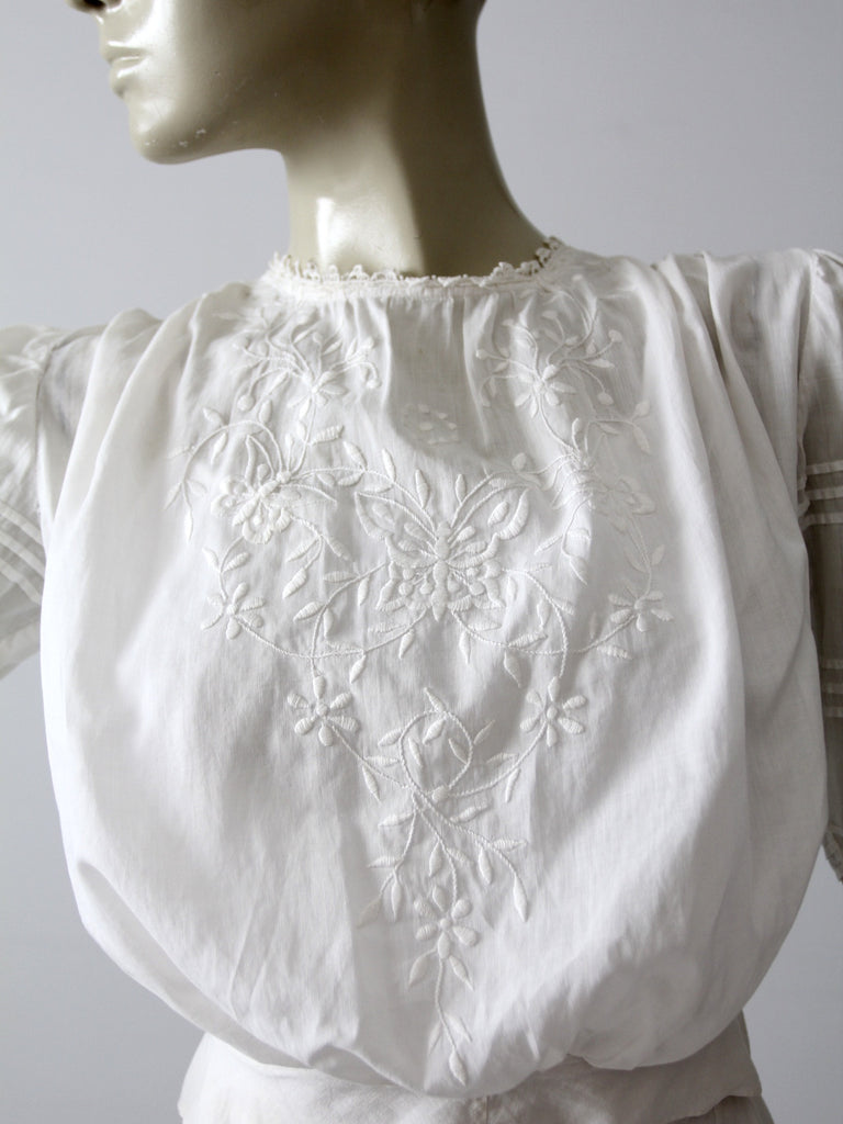 antique Edwardian blouse