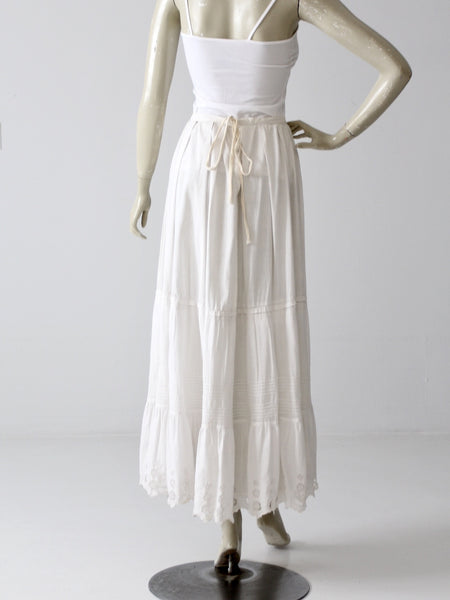 Victorian petticoat antique skirt