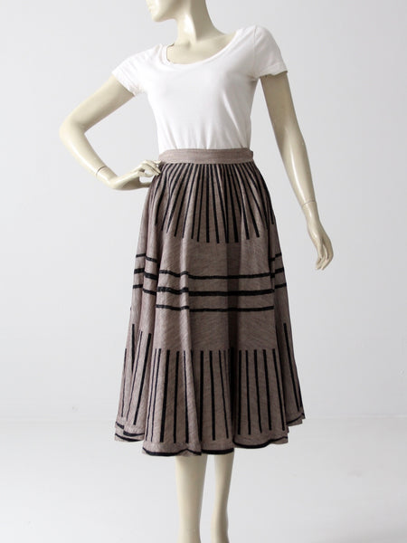 1950s New Look style skirt