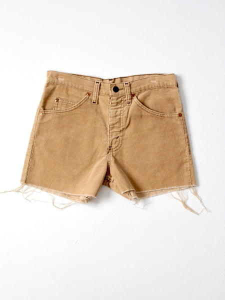 vintage Plain Pockets corduroy shorts, waist 28