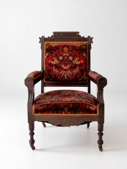 late Sheraton style arm chair