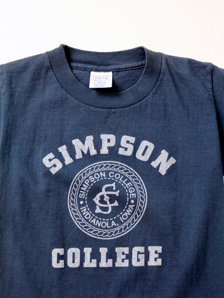 vintage Simpson College t-shirt