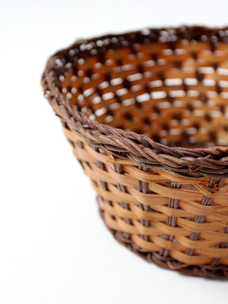 vintage bread basket