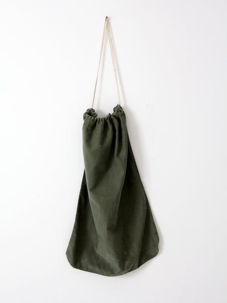 vintage US Army laundry bag