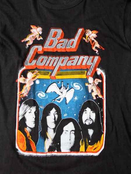 vintage Bad Company band t-shirt