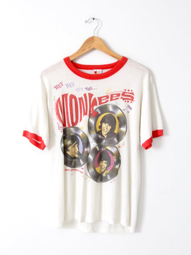 1986 Monkees Anniversary Tour band tee