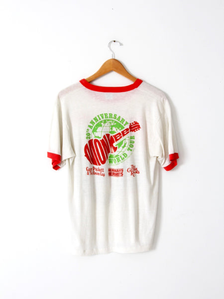 vintage Monkees Anniversary Tour band tee