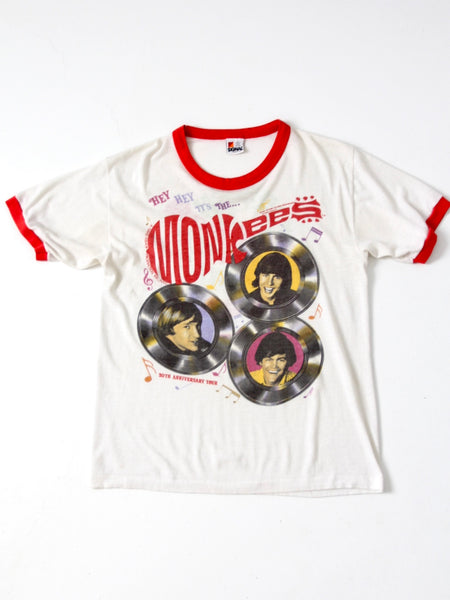 vintage Monkees ringer t-shirt