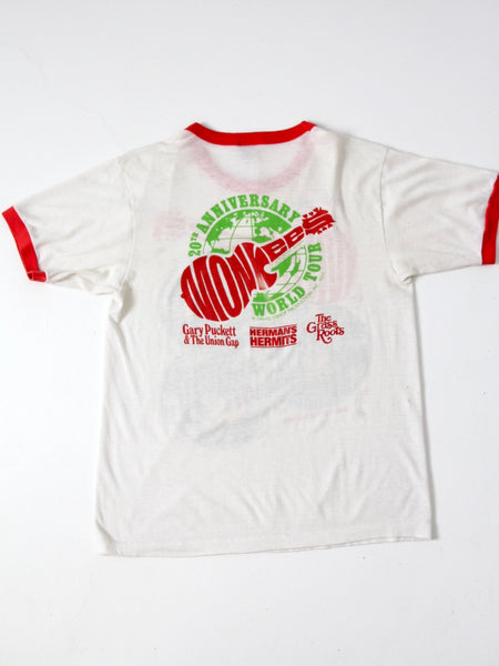 vintage Monkees tour t-shirt