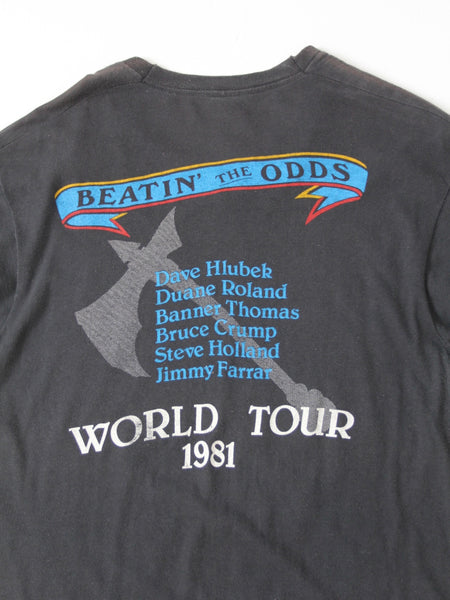 vintage Molly Hatchet band t-shirt, 1981 Beatin the Odds
