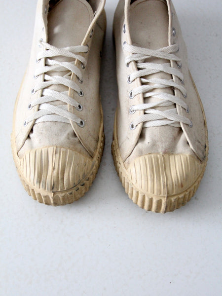 vintage 1950s Bata basketball shoes