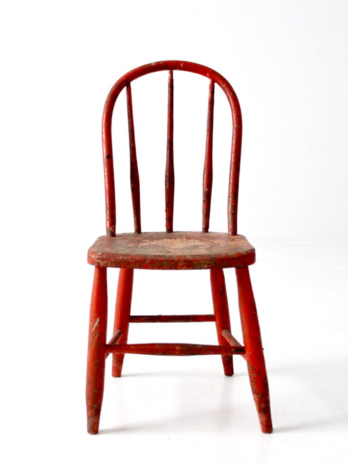 vintage children's windsor chair