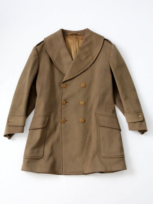 vintage US Army officer coat