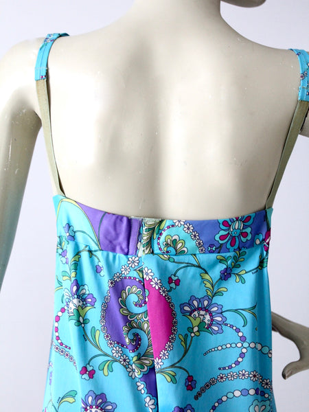 vintage 60s Pucci Form Fit Rogers full slip with underwire