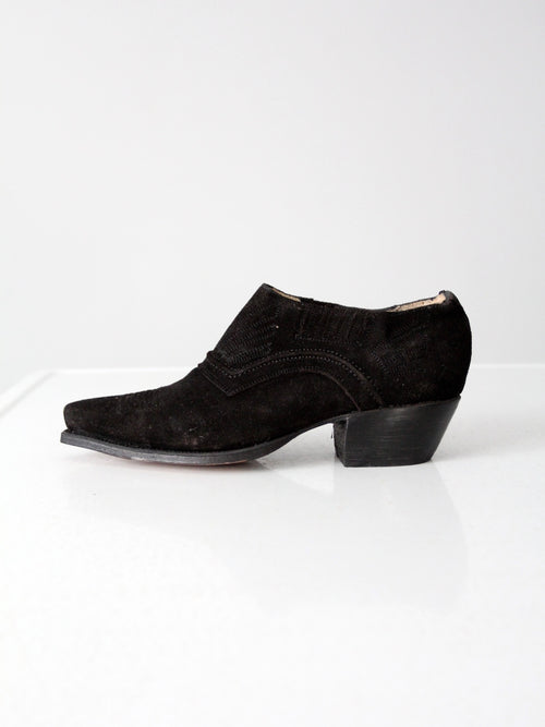 vintage NaNa western ankle boot