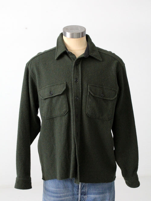 vintage LL Bean Fleece shirt