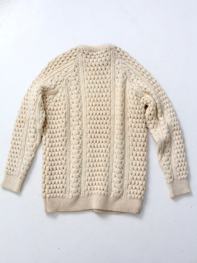 vintage Irish fisherman sweater