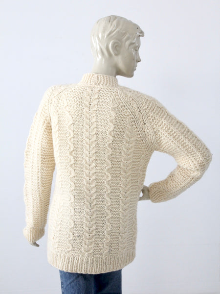 vintage Greek wool sweater