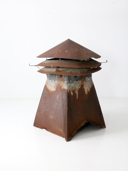antique metal barn cupola