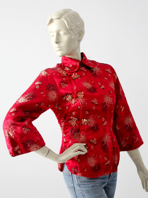 vintage Chinese brocade jacket