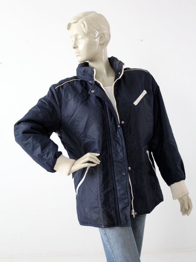 vintage French Winter Olympics jacket