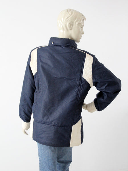 vintage 80s French Winter Olympics jacket