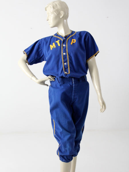 vintage Rawlings baseball uniform