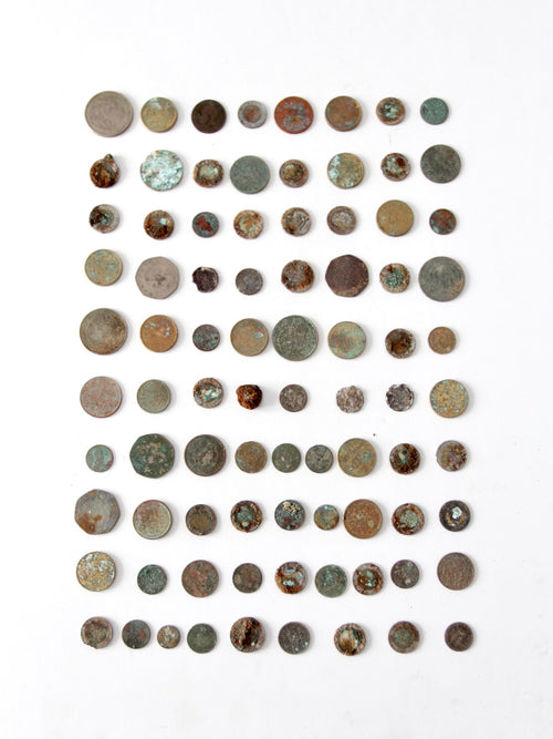 oxidized coin collection