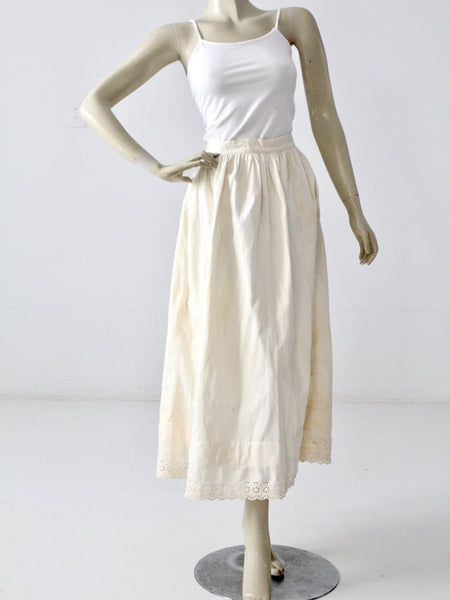 antique petticoat skirt