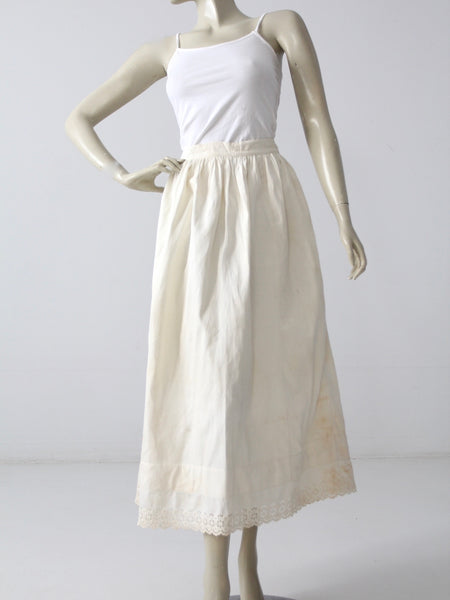 antique Victorian skirt, petticoat